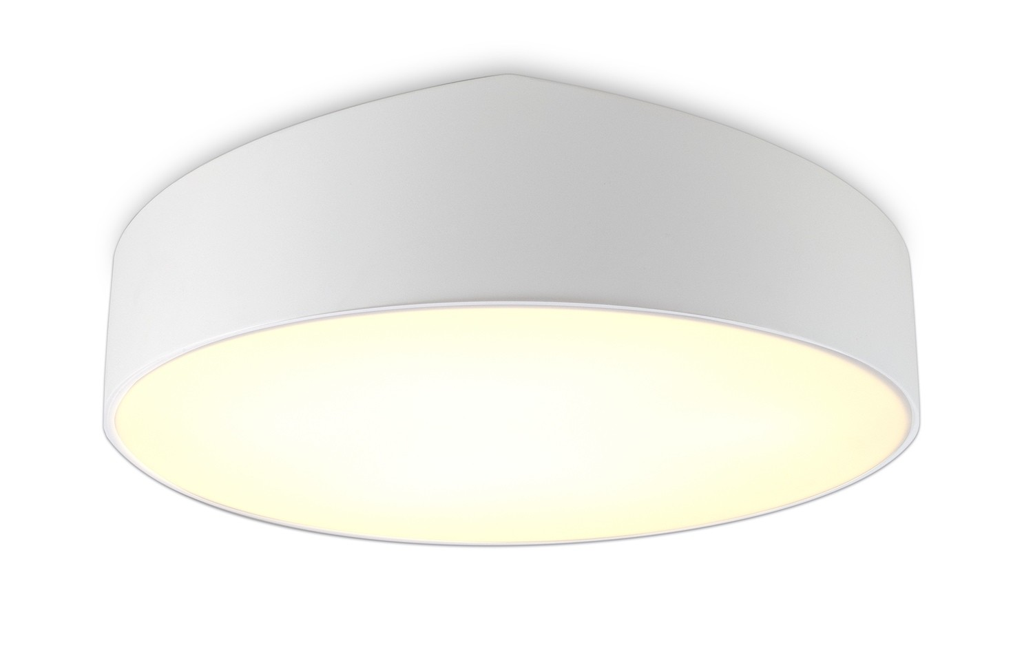 Mini Ceiling 70cm Round, 8 x E27 , White