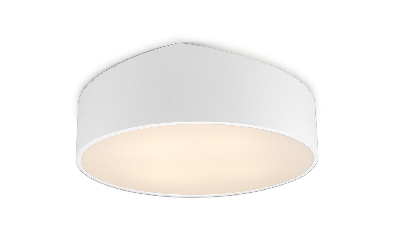 Mini Ceiling 50cm Round, 5 x E27, White