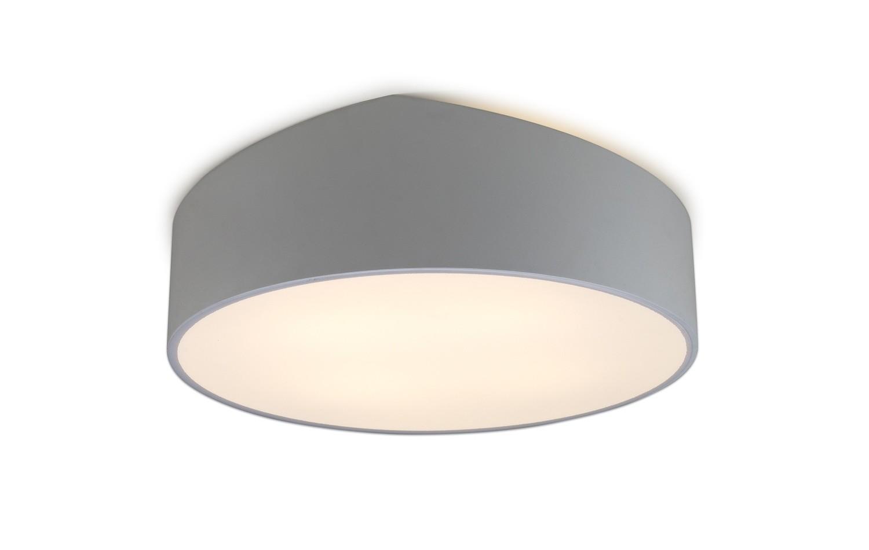 Mini Ceiling 50cm Round, 5 x E27, Silver