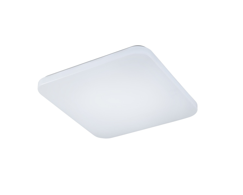 Quatro II Flush Fitting Square 40cm, 45W LED, 5000K, 3000lm, White, 3yrs Warranty