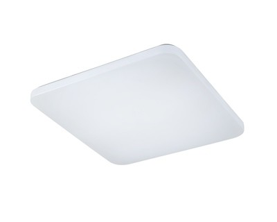 Quatro II Flush Fitting Square 50cm, 60W LED, 5000K, 4000lm, White, 3yrs Warranty