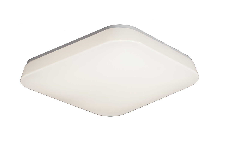 Quatro Ceiling/Wall 28W Large LED 3000K, 2800lm, White Acrylic