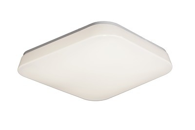 Quatro Ceiling/Wall 28W Large LED 3000K, 2800lm, White Acrylic, 3yrs Warranty
