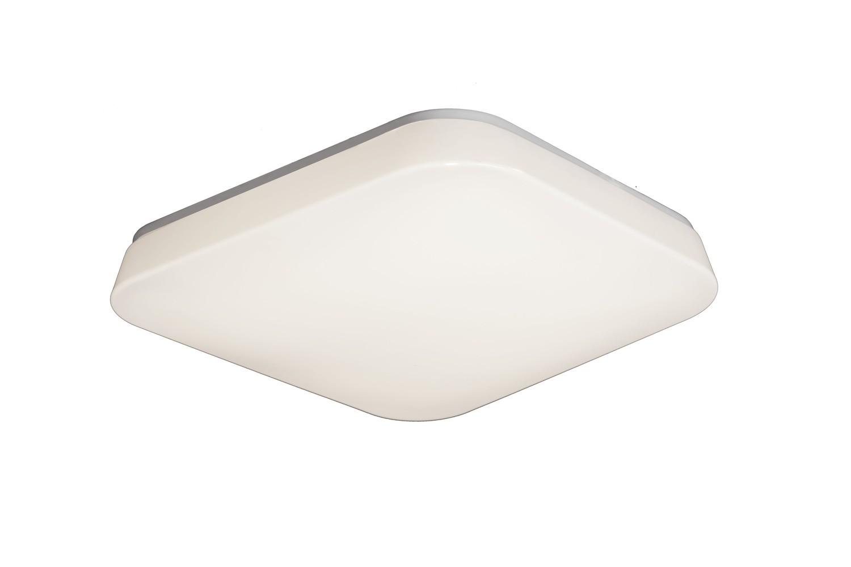 Quatro Ceiling/Wall 18W Medium LED 3000K, 1800lm, White Acrylic, 3yrs Warranty