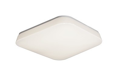 Quatro Ceiling/Wall 18W Medium LED 3000K, 1800lm, White Acrylic, 3yrs Warranty