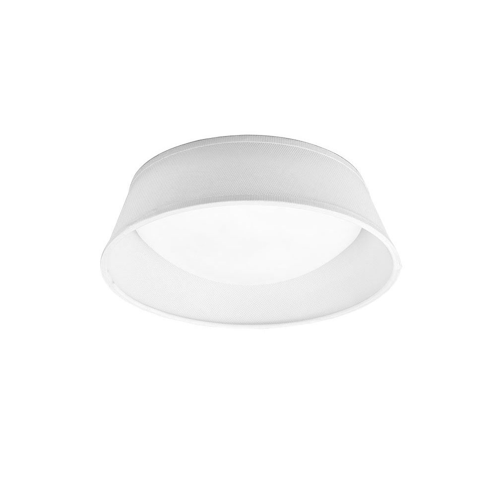Nordica Ceiling 12W LED 32CM Off White 3000K, 120lm, White Acrylic With Ivory White Shade, 3yrs Warranty