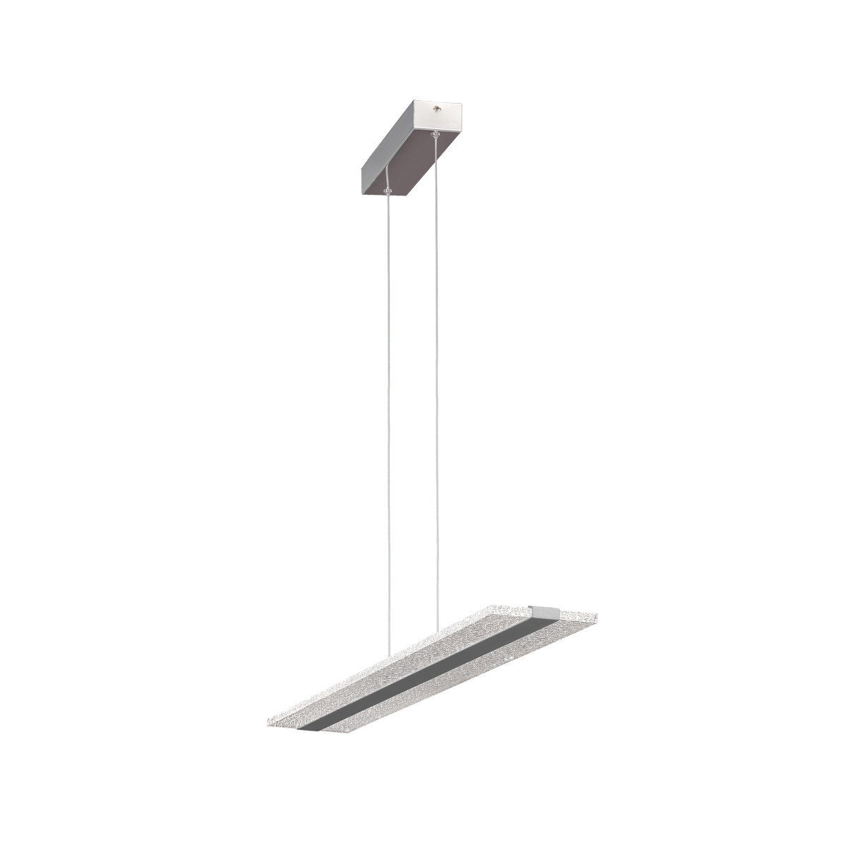 Burbuja Pendant Rectangular 120cm 48W LED 4000K, 3360lm, Chrome