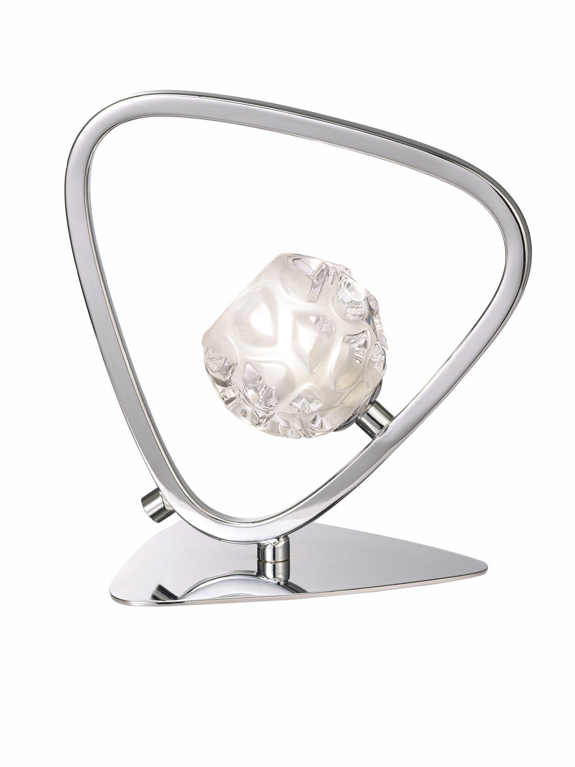 Lux Table Lamp 1 Light G9, Polished Chrome