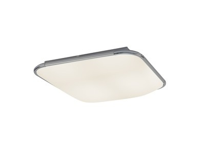 Fase Ceiling Square 45cm, 24W LED, 4000K, 1400lm, White, Acrylic Diffuser