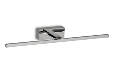 Yaque Picture/Wall Light, 8W LED, 3000K, 447lm, Polished Chrome, IP44