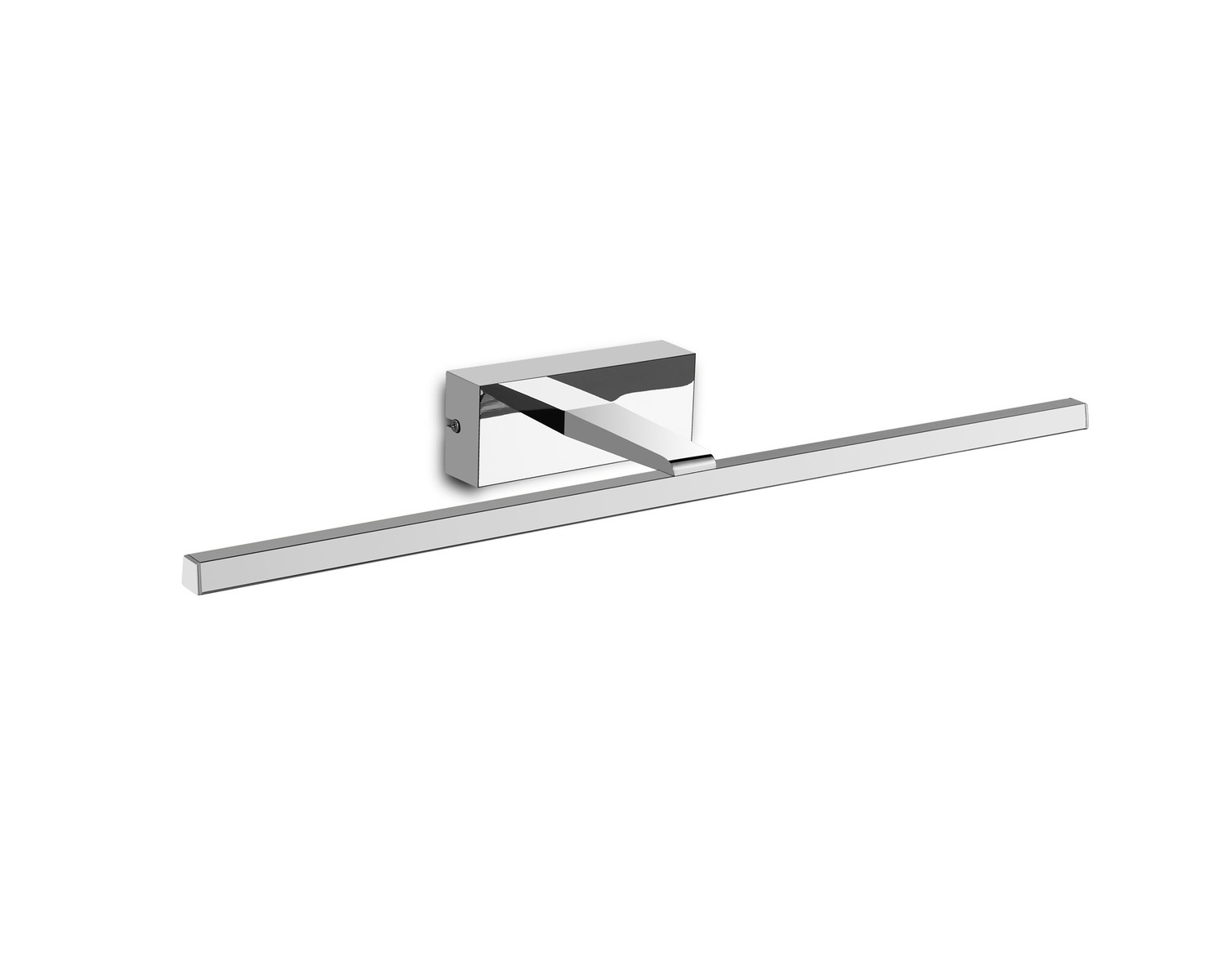 Yaque Picture/Wall Light, 8W LED, 4000K, 475lm, Polished Chrome, IP44