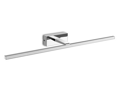 Yaque Picture/Wall Light, 12W LED, 4000K, 840lm, Polished Chrome, IP44