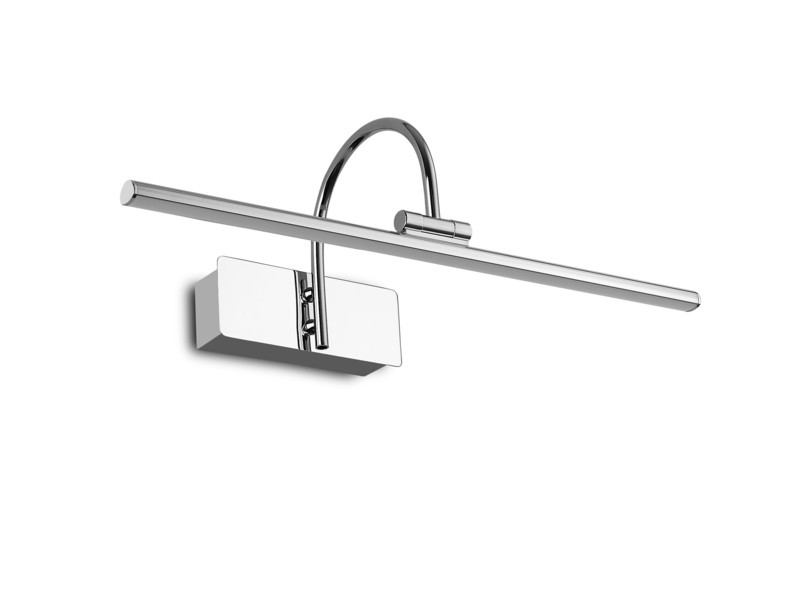 Paracuru Picture Wall Lamp, 8W, 3000K, 619lm polished chrome