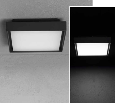 ATRIA SQ surface-mounted luminaire 13W 1500lm