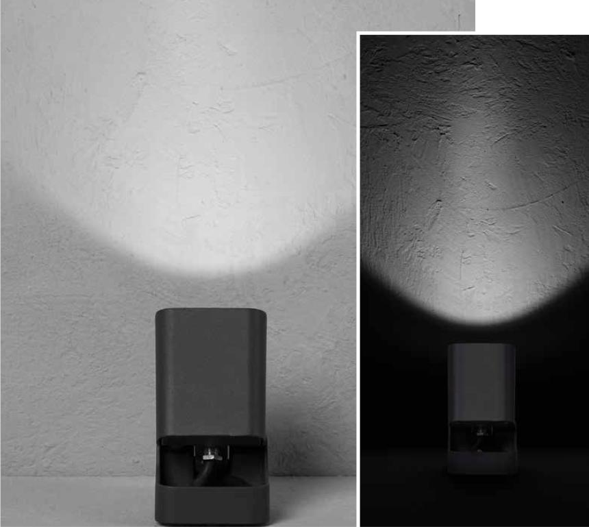 IZAR Outdoor projector luminaire 6W 530lm