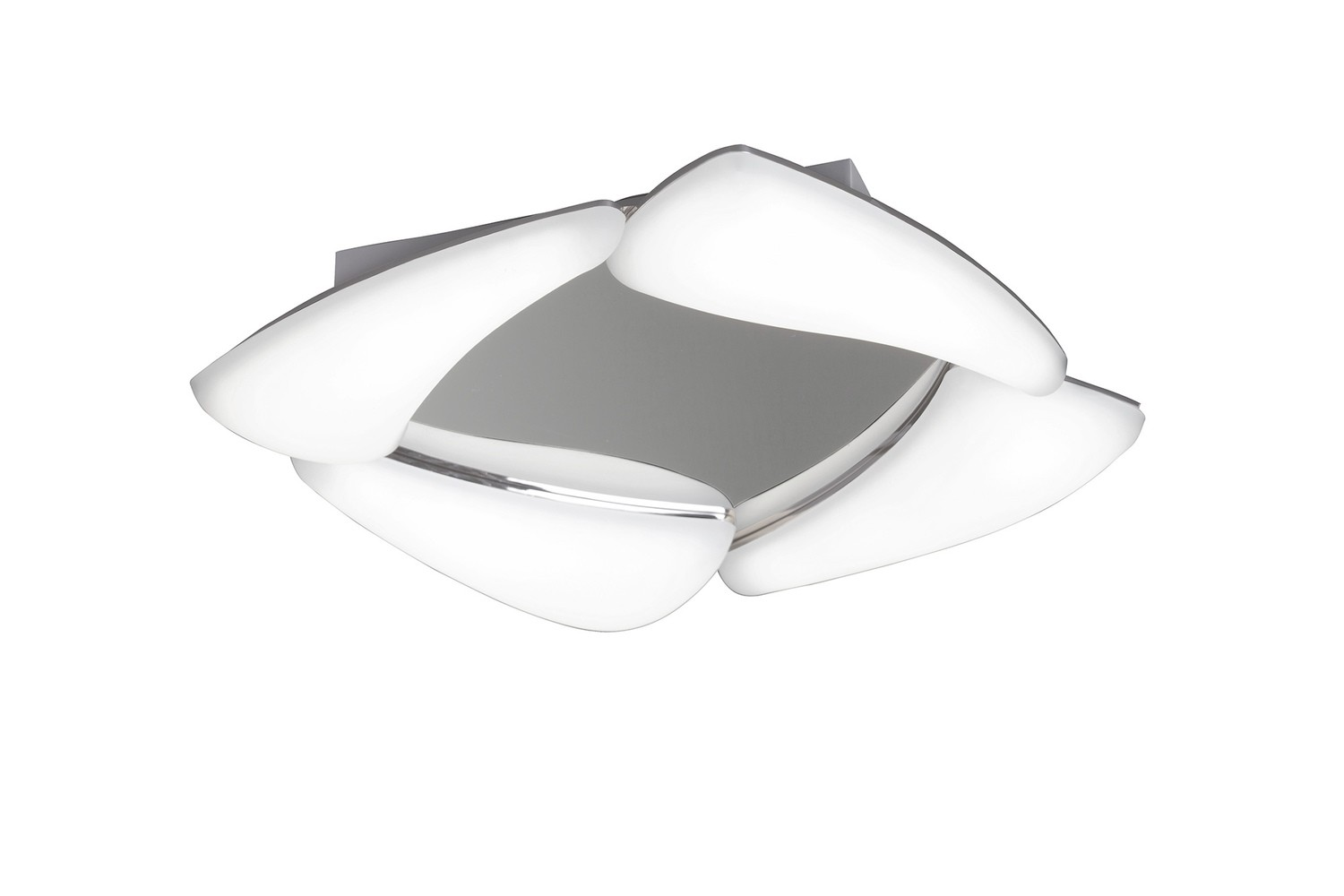 Mistral Ceiling 24W LED 3000K, 2160lm, Polished Chrome/Frosted Acrylic, 3yrs Warranty