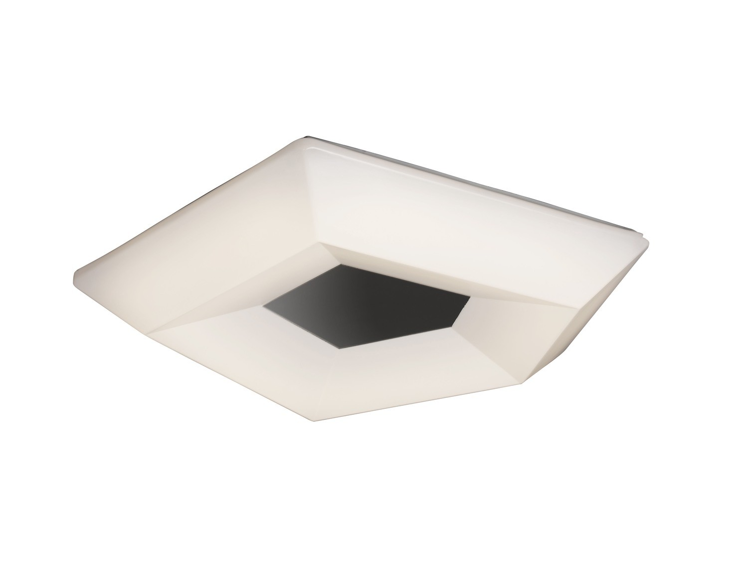 Mantra M3795 City Ceiling 28W LED Large 3000K, 2800lm, Polished Chrome/White Acrylic, 3yrs Warranty