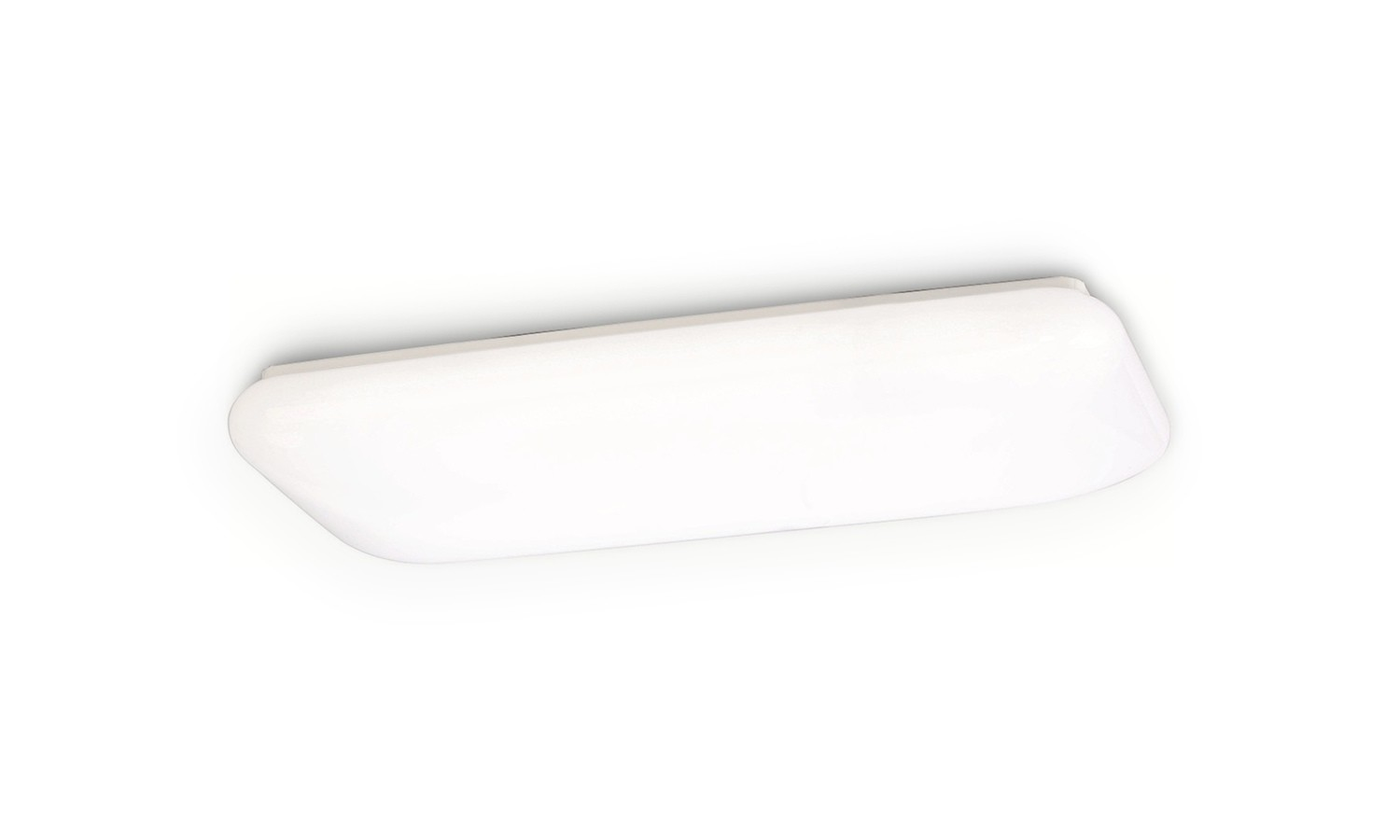 Mantra  M4670 Rectangle Ceiling 25W LED 4000K, 1900lm, White Acrylic, 3yrs Warranty