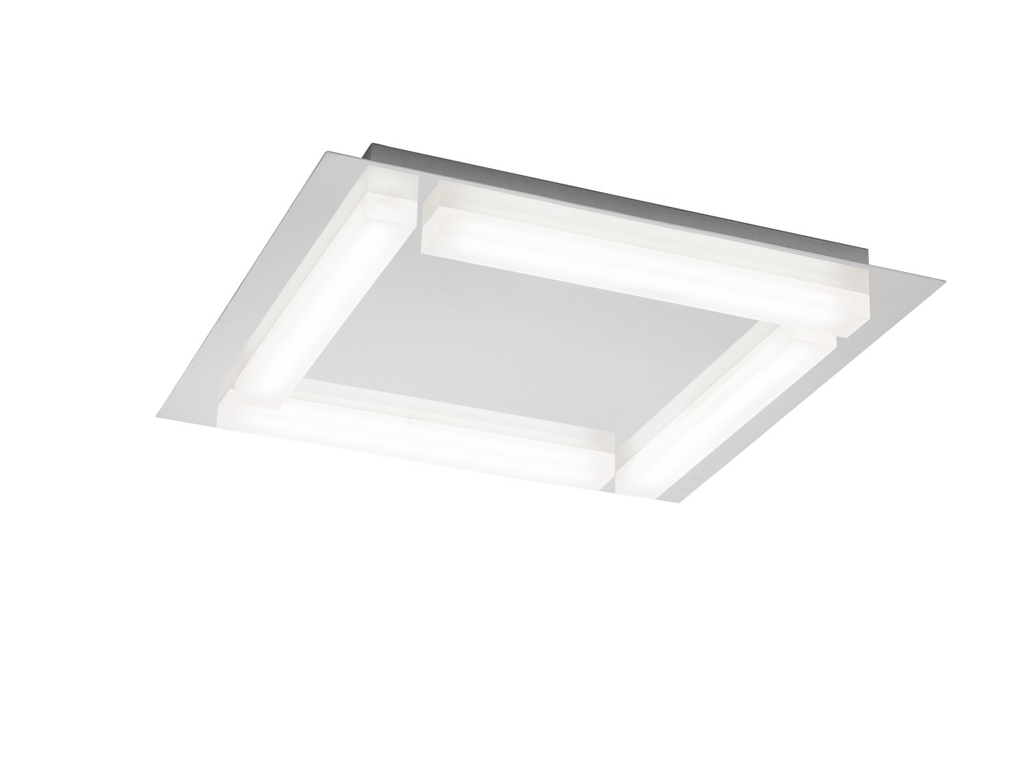 Verona Ceiling 4 Light 20W LED 3000K, 1800lm, Polished Chrome/Frosted Acrylic, 3yrs Warranty