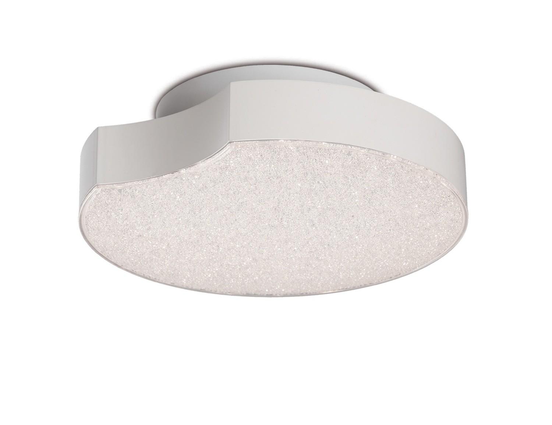Lunas Ceiling / Wall Light 25cm Diameter 14W LED 3000K, 720lm, White
