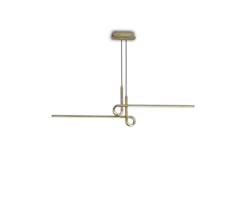 Cinto Pendant 24W LED, 3000K, 1950lm, Antique Brass, 3yrs Warranty