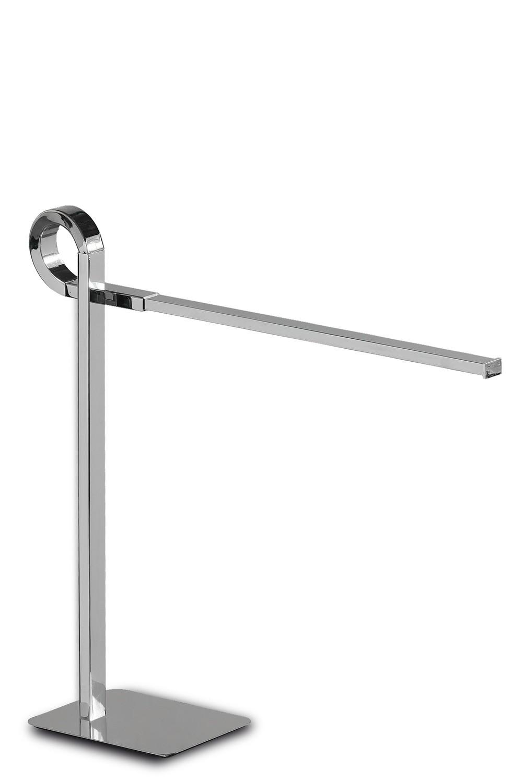 Cinto Table Lamp, 6W LED, 3000K, 480lm, Polished Chrome