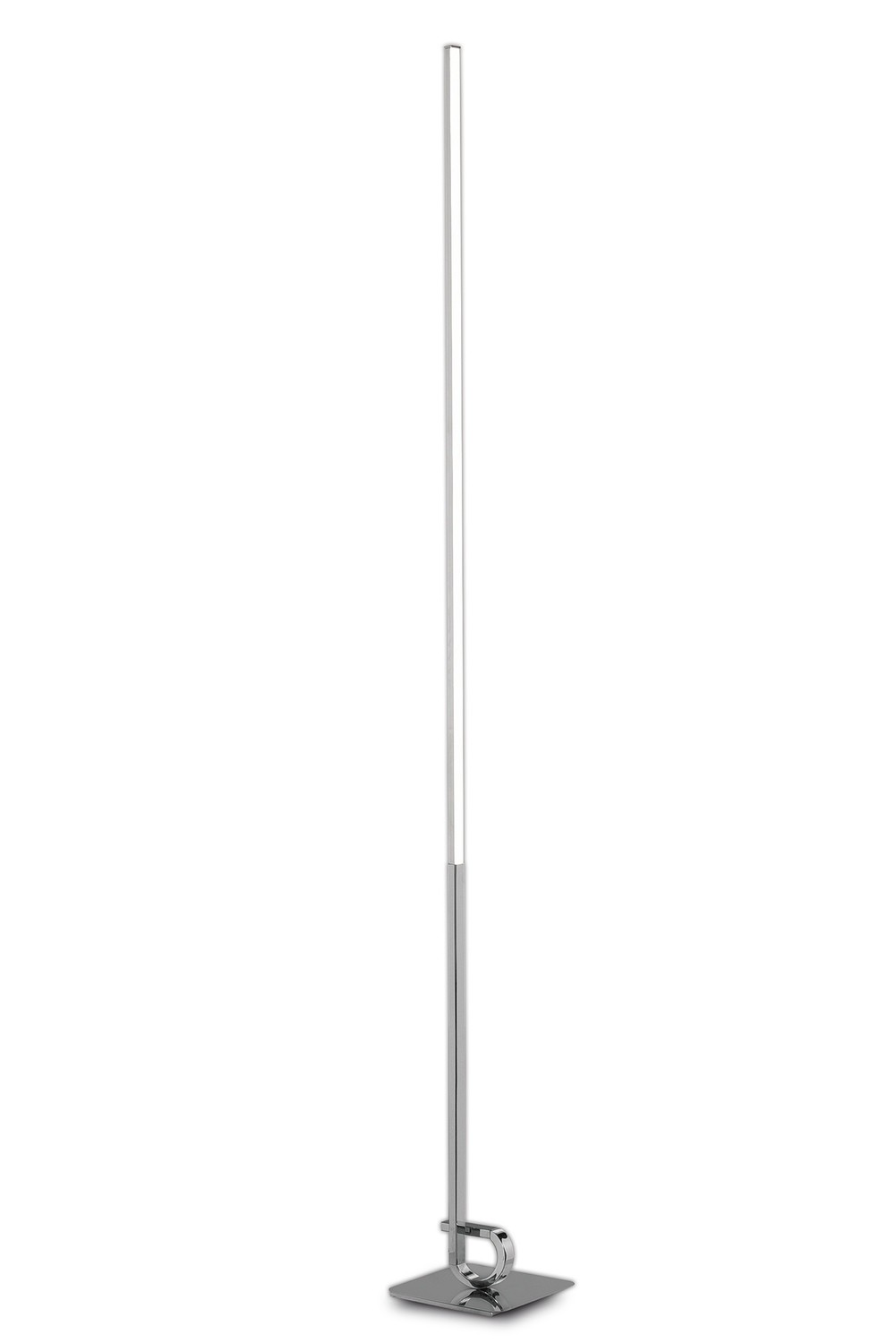 Cinto Floor Lamp 175cm, 20W LED, 3000K, 1600lm Dimmable, Polished Chrome