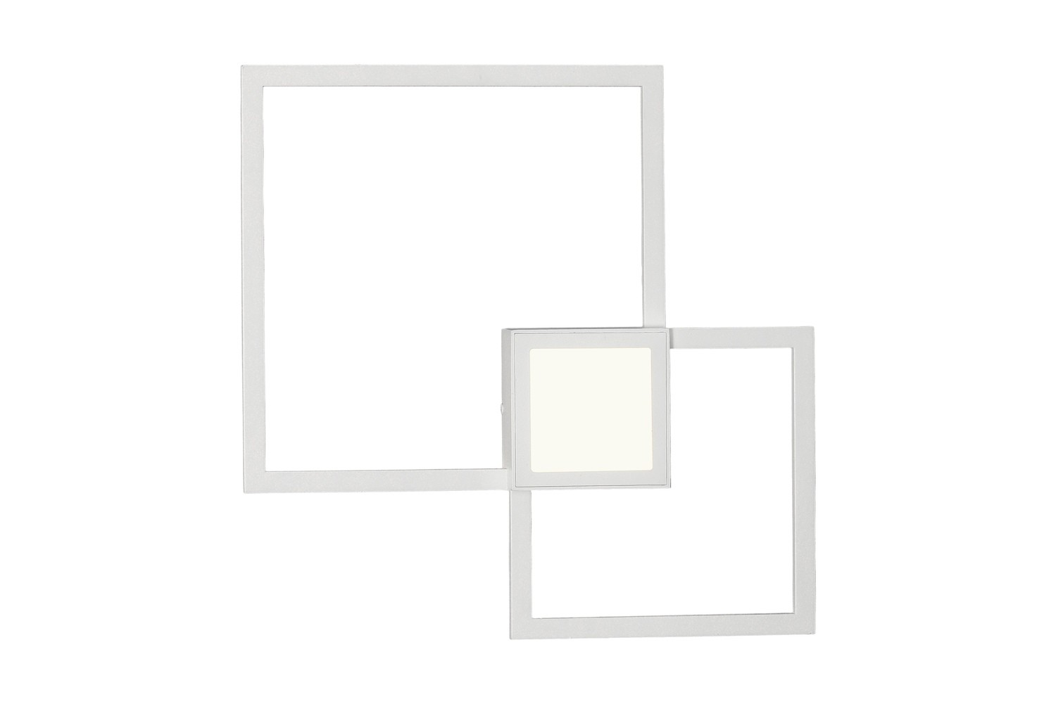 Mural Wall Lamp Squares, 24W, 3000K, 1440lm, White, 3yrs Warranty