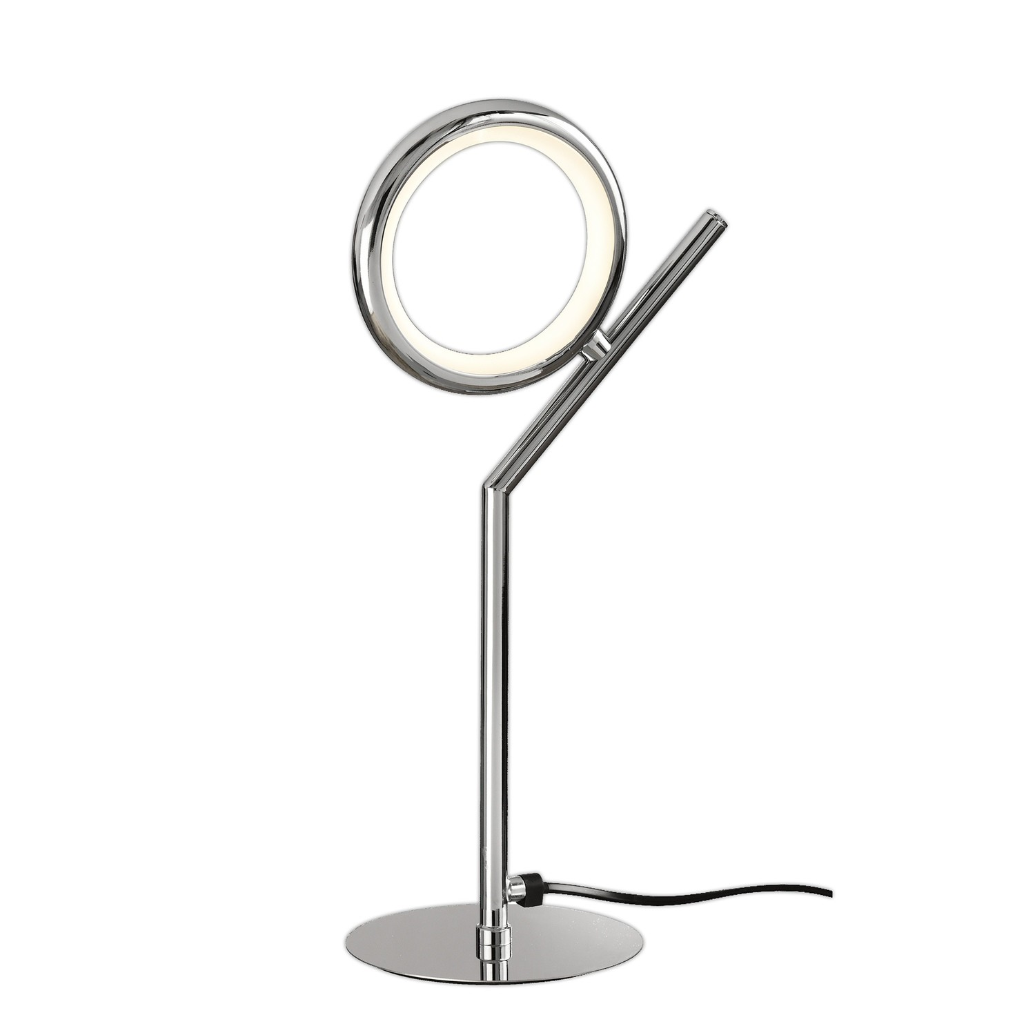 Olimpia Table Lamp, 8W LED, 3000K, 600lm, IP20, Chrome