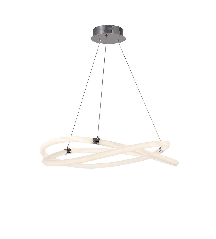 Infinity 2 Ceiling, 60W LED, 3000K, 4500lm, IP20, Chrome, 3yrs Warranty
