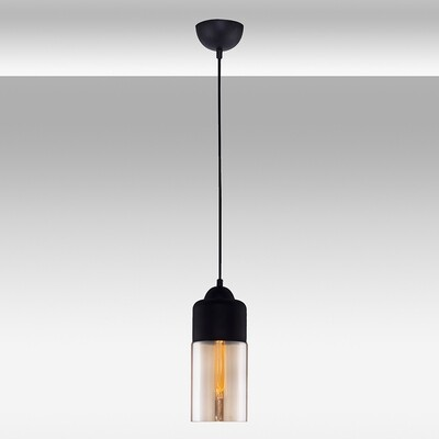 Blacky cone pendant luminarie luminaire 1xE27