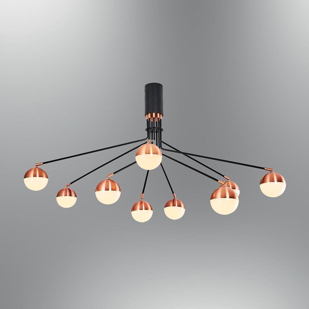 LUUK 9 LED ceiling luminaire