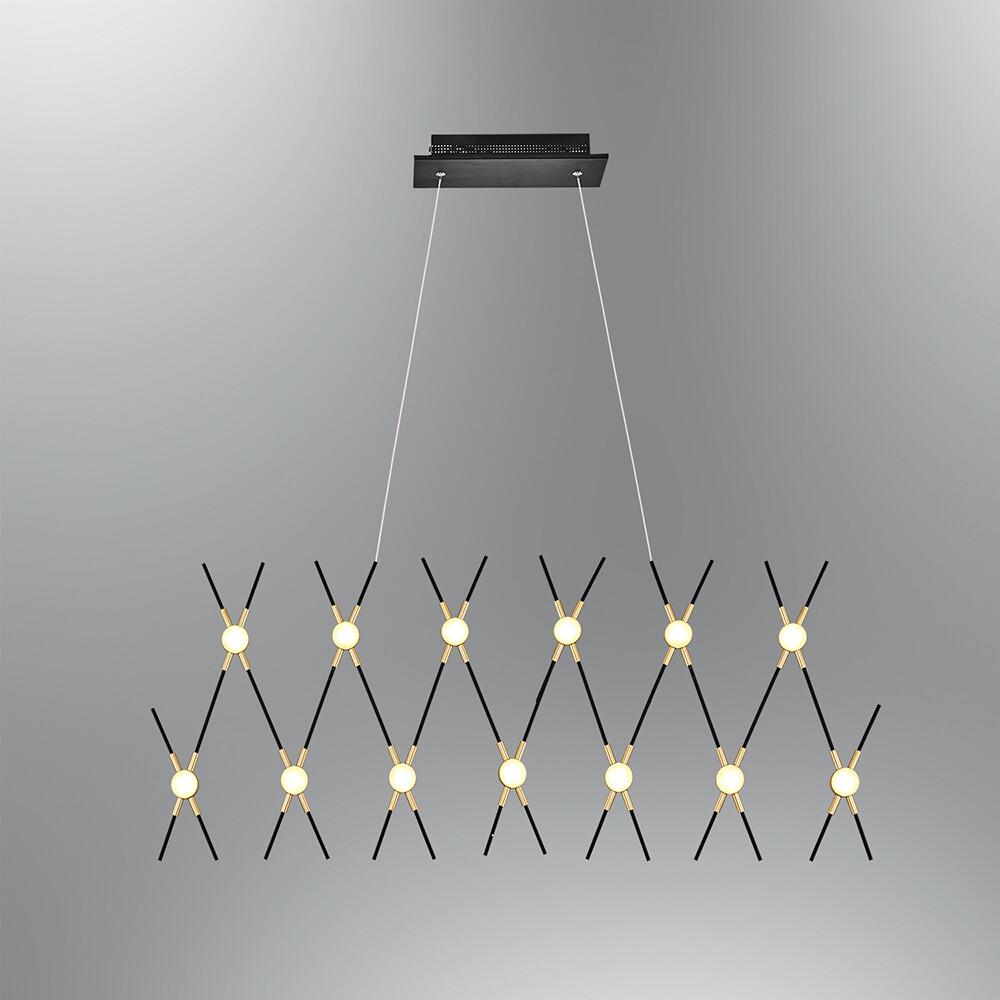 MIKADO 13 head pendant LED luminaire