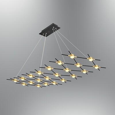 MIKADO 22 head pendant LED luminaire