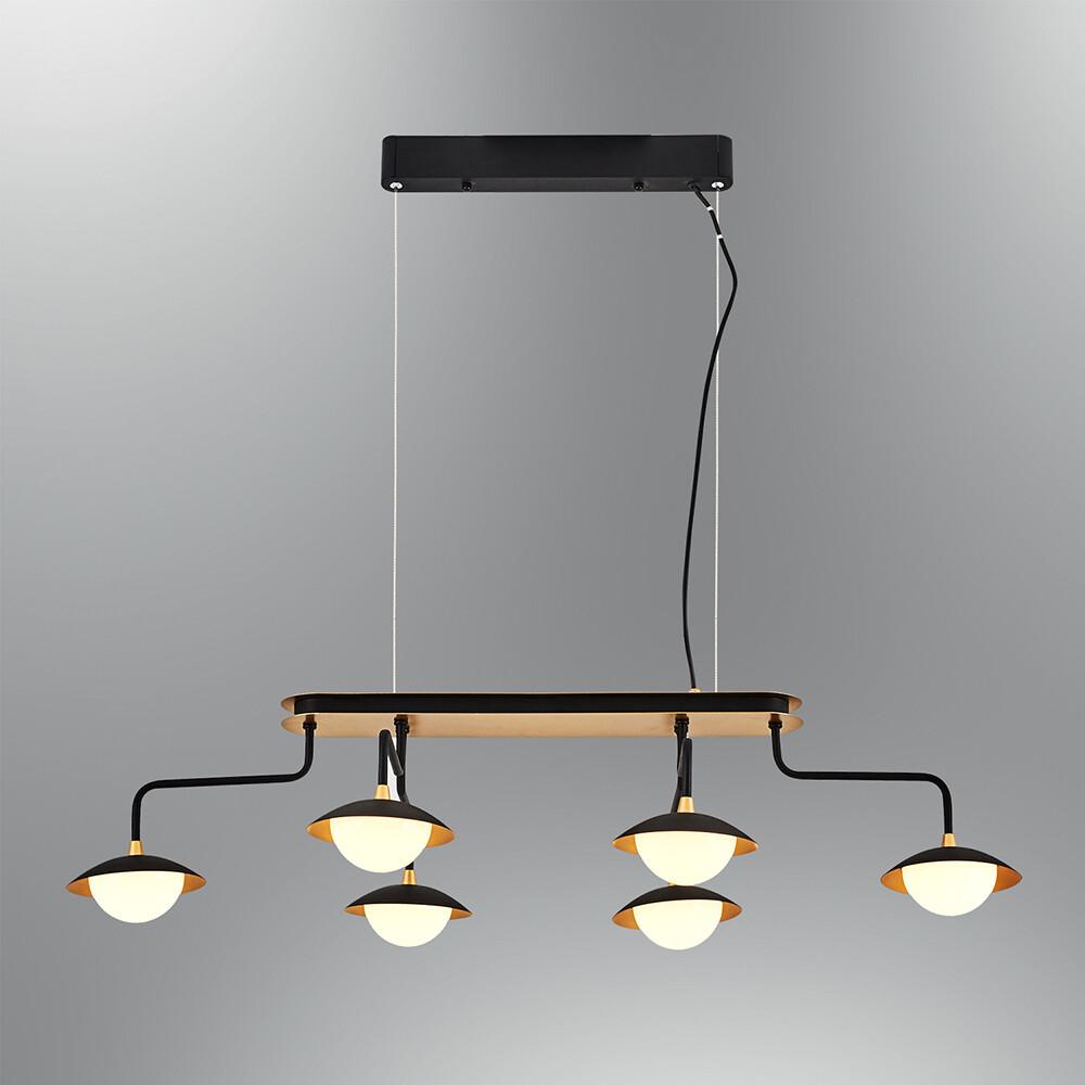 augusta 6 LED pendant luminaire