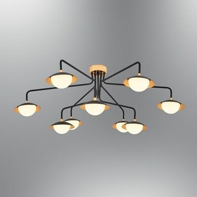 augusta 9 LED ceiling luminaire