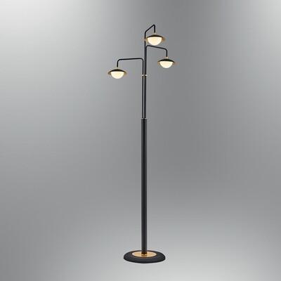 augusta 3 LED floor lamp