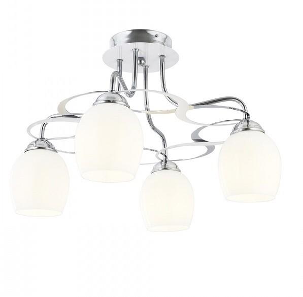 Amaryllis ceiling luminaire for 4xE27 light