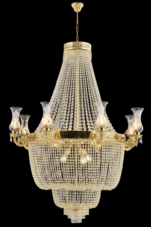 Zahir kairo golden pendant luminaire 10xE27