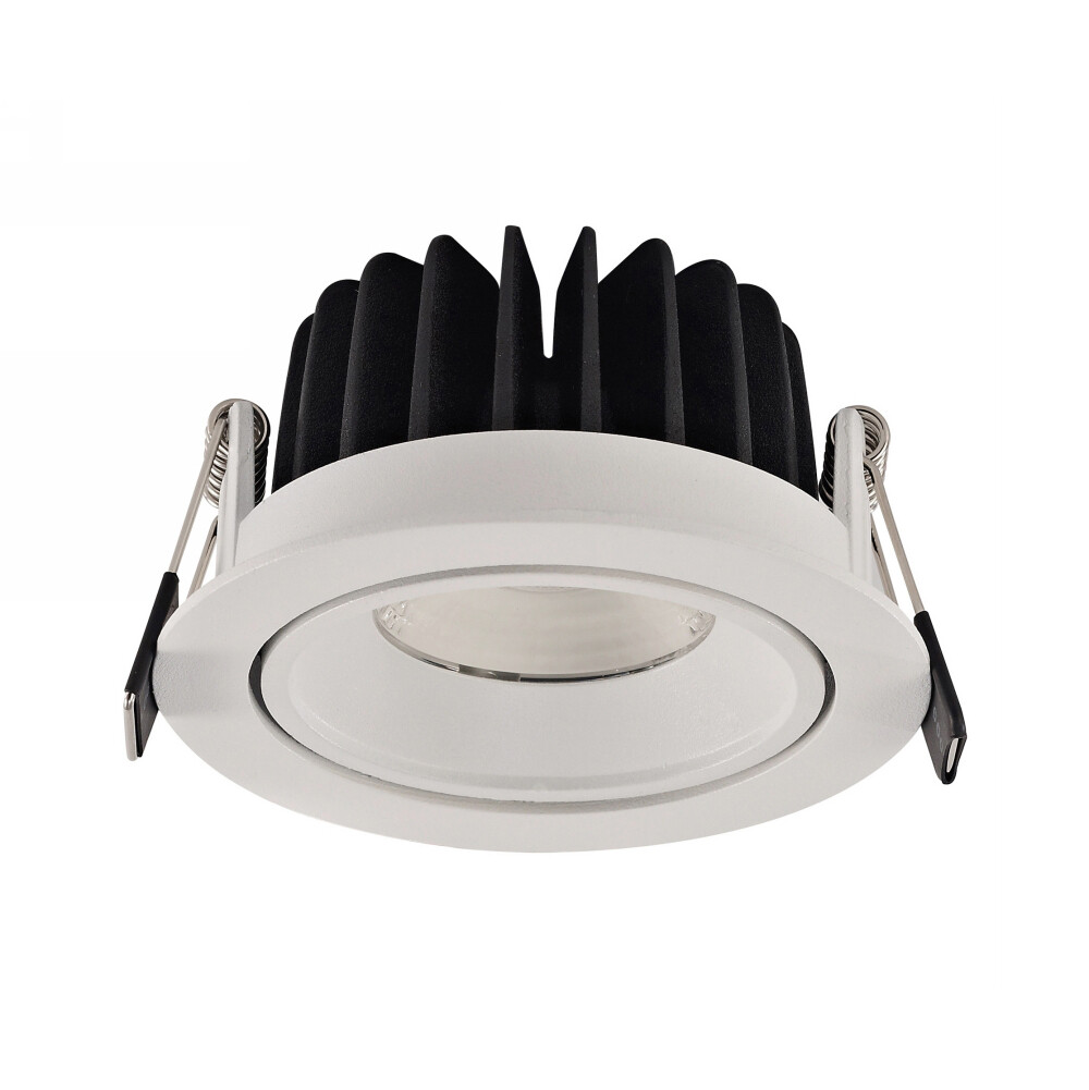 Beck A 10, 10W, White LED Recessed Adjustable