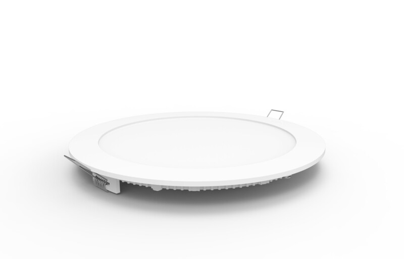 Intego Recessed Ecovision, 225mm, Round, 18W LED