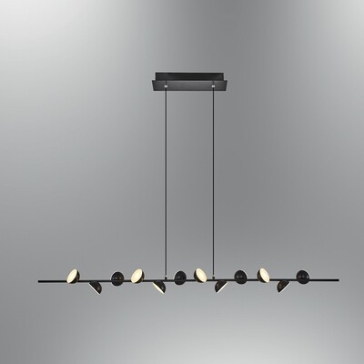 pendola line 12 LED pendant luminaire