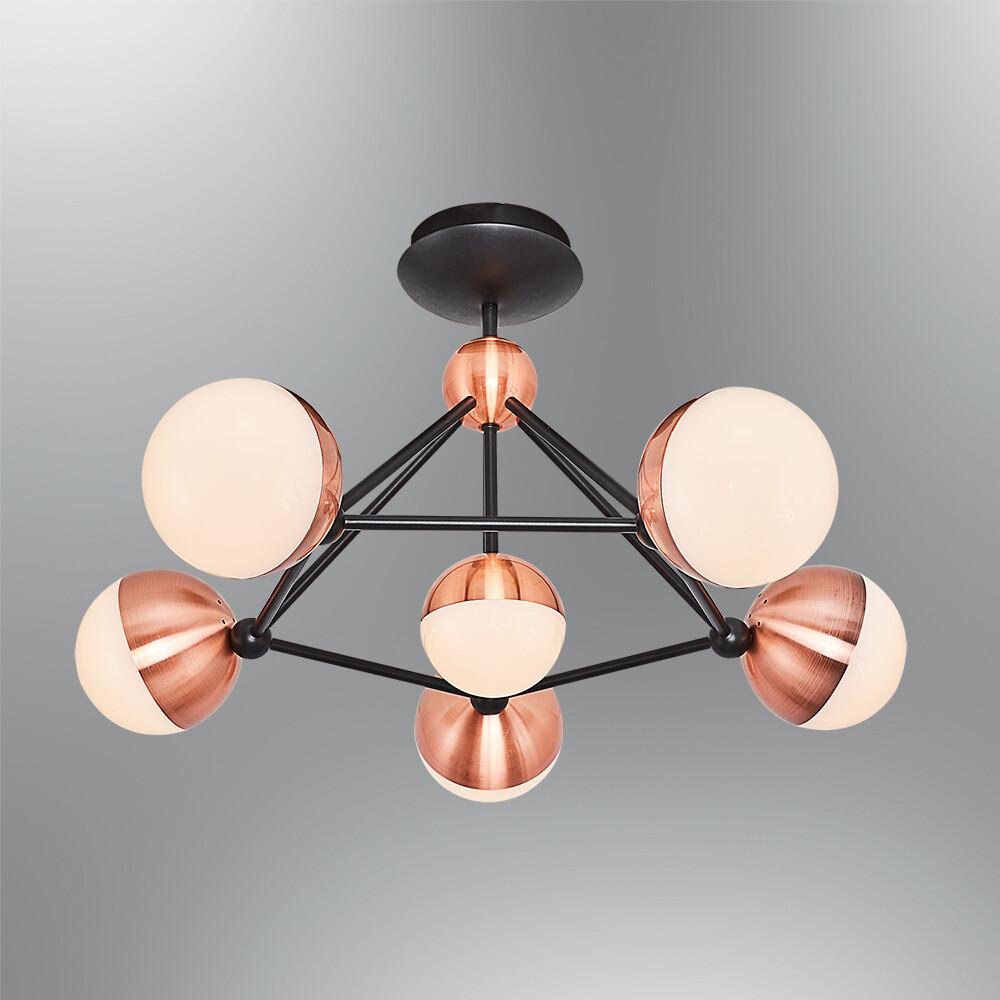 planetarus 6 LED ceiling lamp