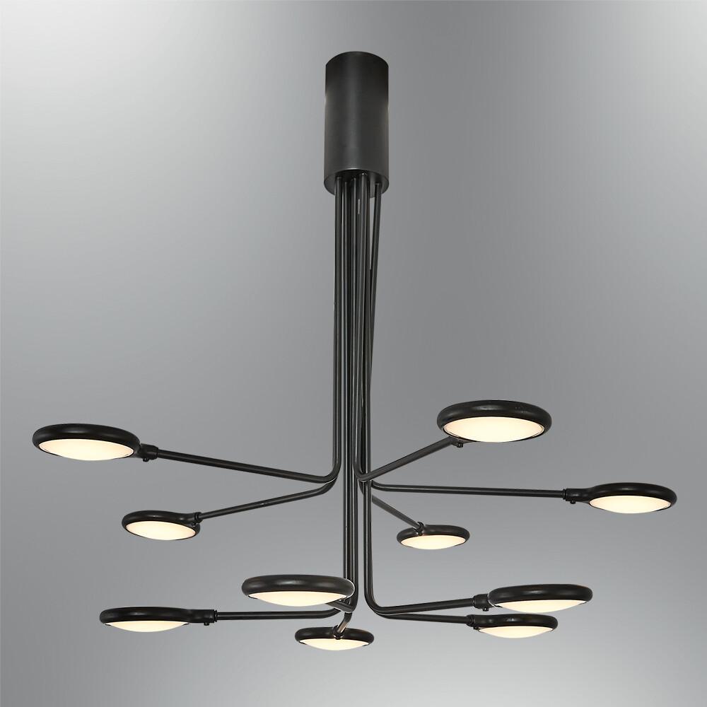 alhena 10 LED chandelier