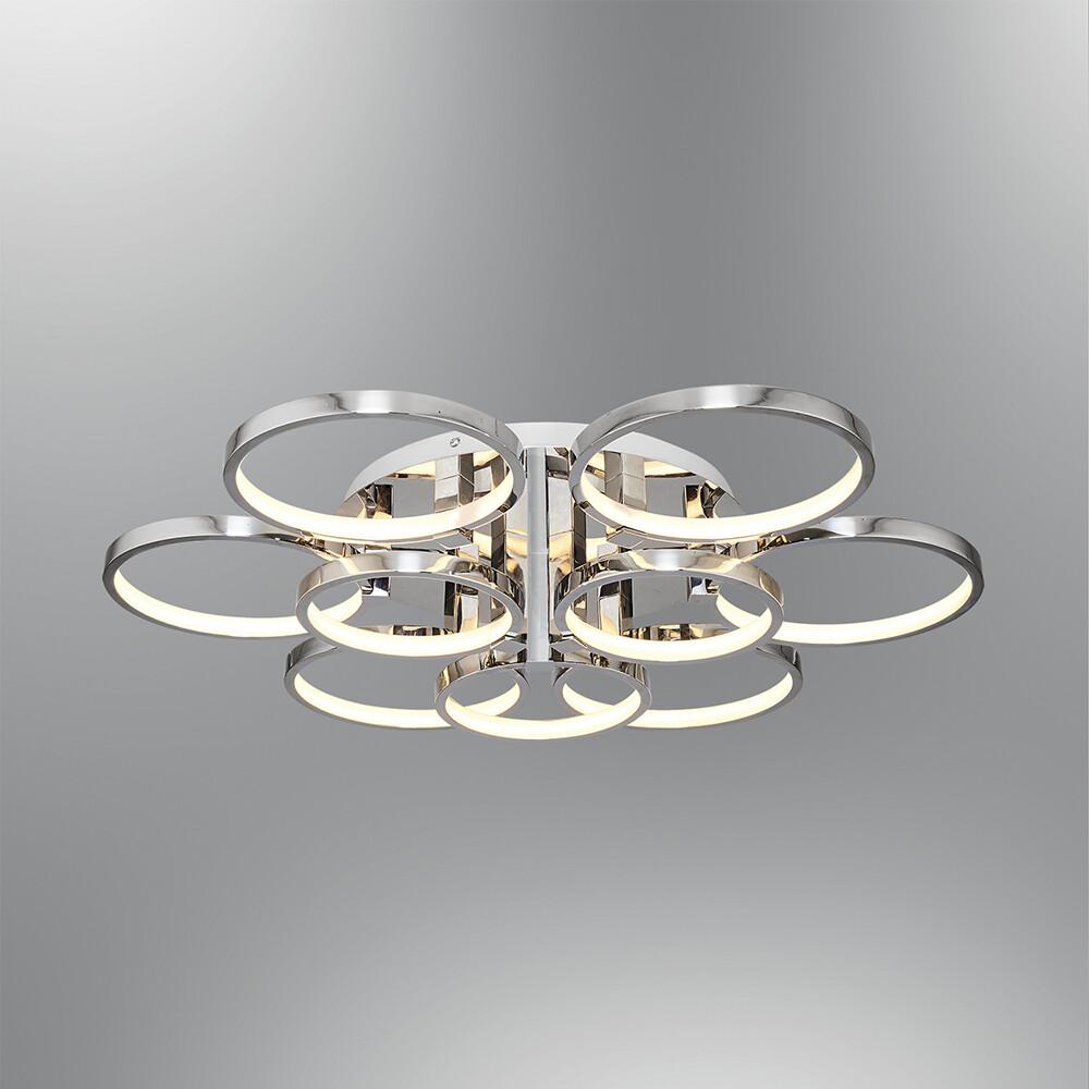anelli 9 ring LED ceiling light