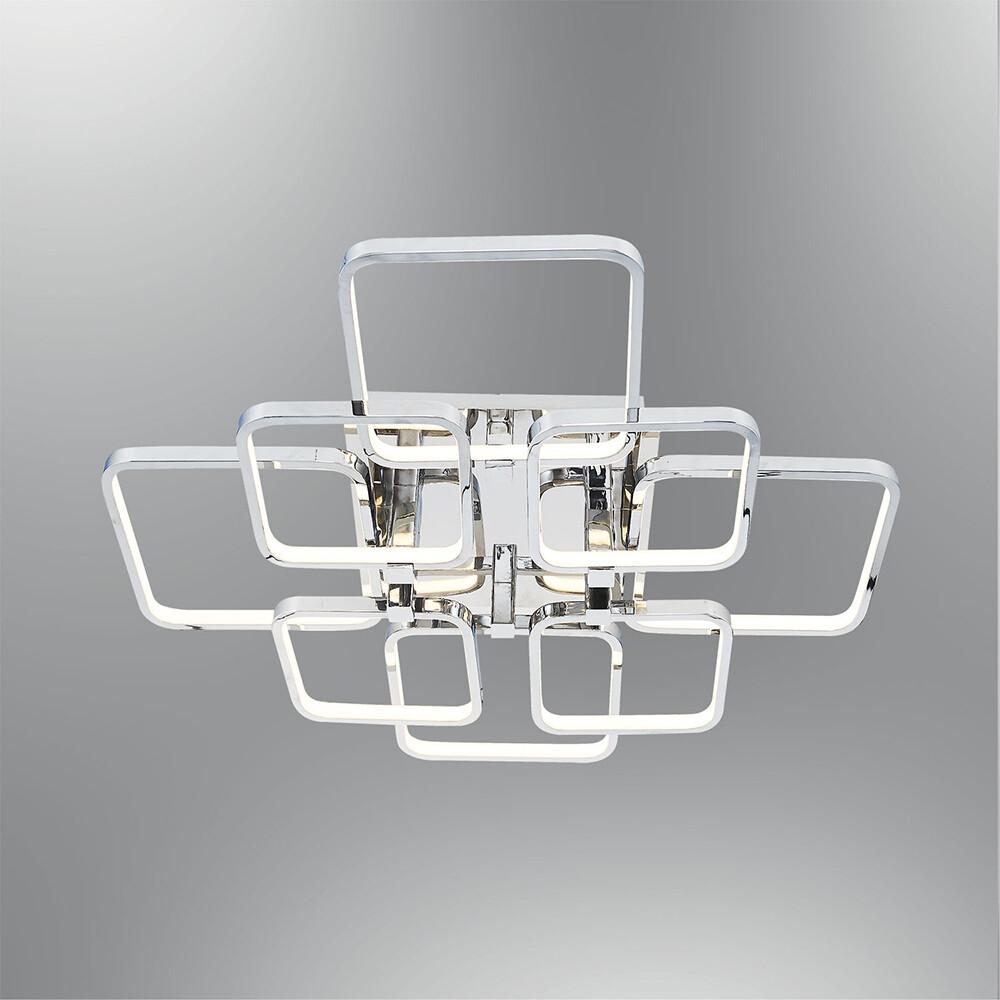 tetragono 8 LED ceiling luminaire