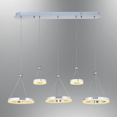 crystalis 5 LED pendant luminaire