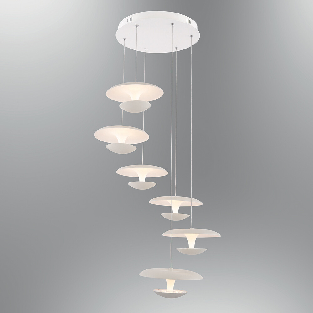 linterna 6 LED pendant luminaire