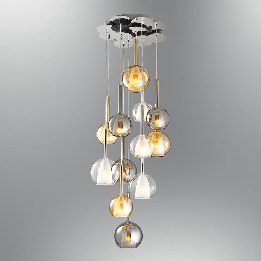 perline 12 LED pendant luminaire