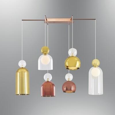 campanella 6 LED ceiling luminaire
